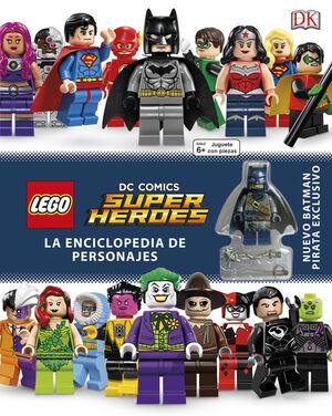 LEGO® DC SUPER HÉROES ENCICLOPEDIA DE PERSONAJES