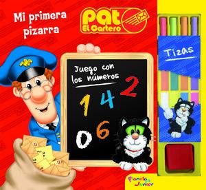 PAT EL CARTERO. MI PRIMERA PIZARRA