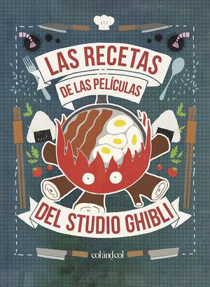 RECETAS DE LAS PELICULAS DEL STUDIO GHIBLI,LAS