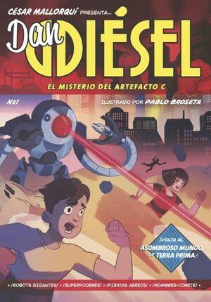 DAN DIESEL 01 MISTERIO DEL ARTEFACTO C