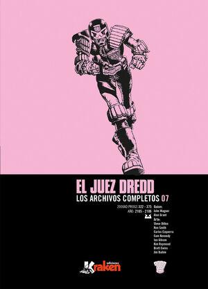 JUEZ DREDD. LOS ARCHIVOS COMPLETOS 07