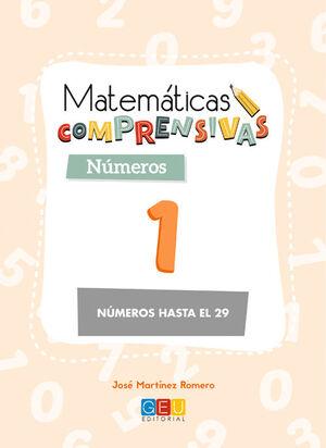 MATEMÁTICAS COMPRENSIVAS. NÚMEROS 1