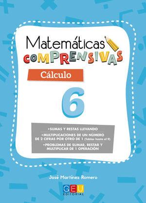 MATEMÁTICAS COMPRENSIVAS. CÁLCULO 6
