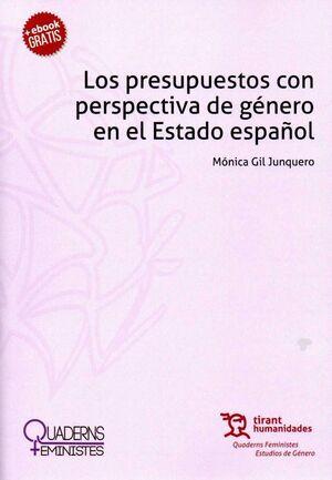 LOS PRESUPUESTOS CON PERSPECTIVA DE GÉNERO EN EL ESTADO ESPAÑOL.