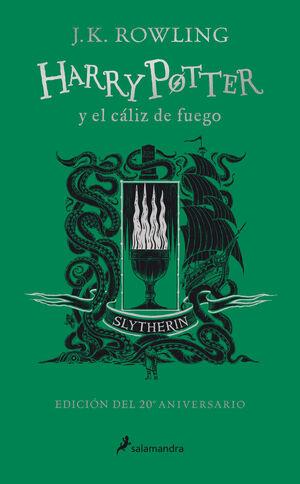 HARRY POTTER Y EL CÁLIZ DE FUEGO (EDICIÓN SLYTHERIN DEL 20º ANIVE