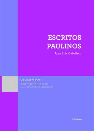 ESCRITOS PAULINOS