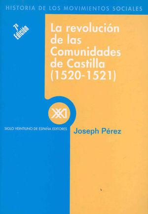 REVOLUCION DE LAS COMUNIDADES DE CASTILLA 1520-152
