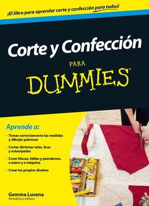 CORTE Y CONFECCIÓN PARA DUMMIES