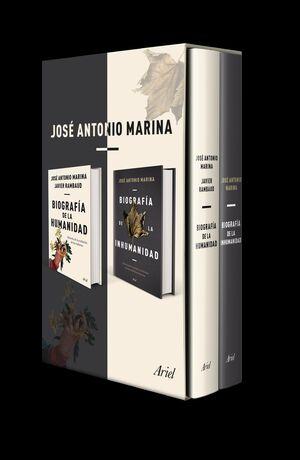 ESTUCHE BIOGRAFIA DE LA INHUMANIDAD + BIOGRAFÍA DE LA HUMANIDAD