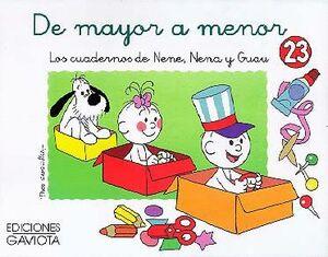 DE MAYOR A MENOR 23