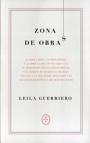 ZONA DE OBRAS