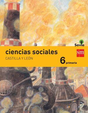 CIENCIAS SOCIALES. 6 PRIMARIA. SAVIA. CASTILLA Y LEÓN