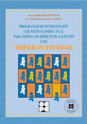 PROGRAMA DE INTERVENCIÓN COGNITIVO-CONDUCTUAL PARA NIÑOS CON DÉFICIT DE ATENCIÓN