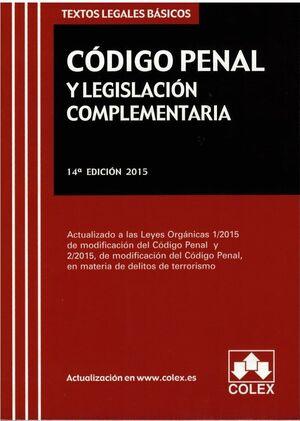 CODIGO PENAL Y LEGISLACION ESPECIAL