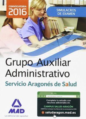 GRUPO AUXILIAR ADMINISTRATIVO DEL SERVICIO ARAGONÉS DE SALUD (SALUD-ARAGÓN). SIM