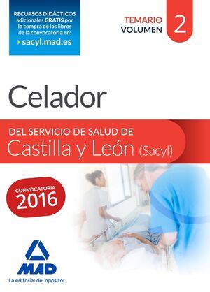 CELADOR DEL SERVICIO DE SALUD DE CASTILLA Y LEÓN (SACYL).
