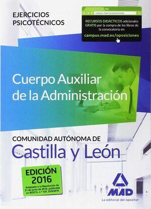 CUERPO AUXILIAR DE LA ADMÓN DE LA COMUNIDAD AUTÓNOMA DE CASTILLA Y LEÓN. EJERCIC