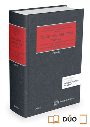 CÓDIGO CIVIL COMENTADO VOLUMEN I (PAPEL + E-BOOK)