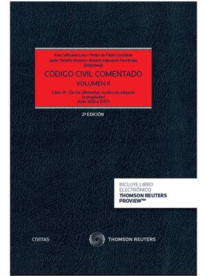 CÓDIGO CIVIL COMENTADO VOLUMEN II  (PAPEL + E-BOOK)