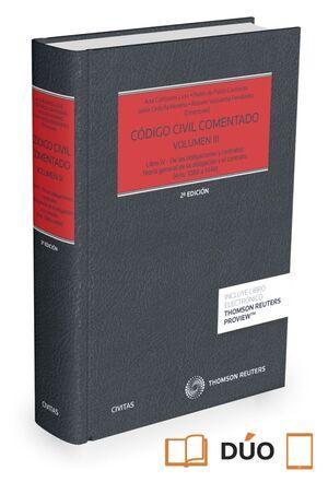 CÓDIGO CIVIL COMENTADO VOLUMEN III (PAPEL + E-BOOK)