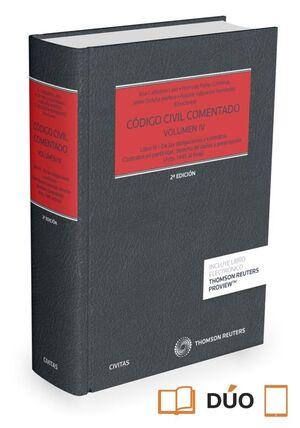 CÓDIGO CIVIL COMENTADO VOLUMEN IV (PAPEL + E-BOOK)