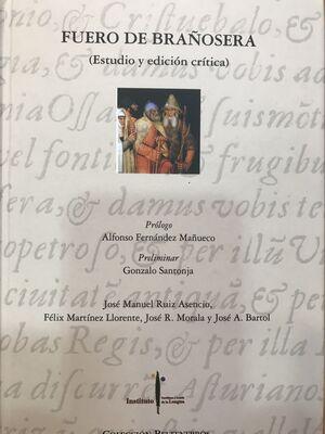 FUERO DE BRAÑOSERA    ESTUDIO  Y EDICION CRITICA