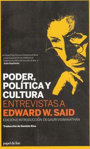 PODER POLITICA CULTURA