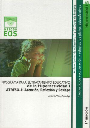 TRATAMIENTO EDUCATIVO DE LA HIPERACTIVIDAD I
