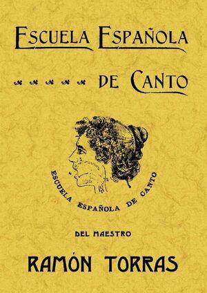 ESCUELA ESPAÑOLA DE CANTO