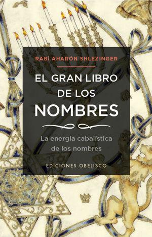 EL GRAN LIBRO DE LOS NOMBRES