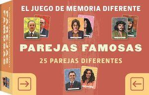 JUEGO DE MEMORIA DIFERENTE PAREJAS FAMOSAS